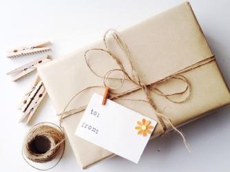carta, pacchi, natale