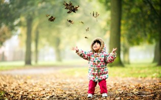child-happy-nature-autumn-leaves-hd-wallpaper