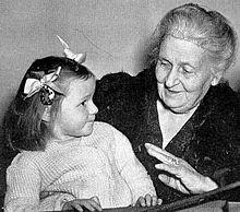 Maria Montessori educatrice
