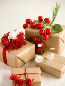 pon pon, natale, pacco, regalo