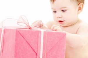 natale, infanzia, bambino, regalo