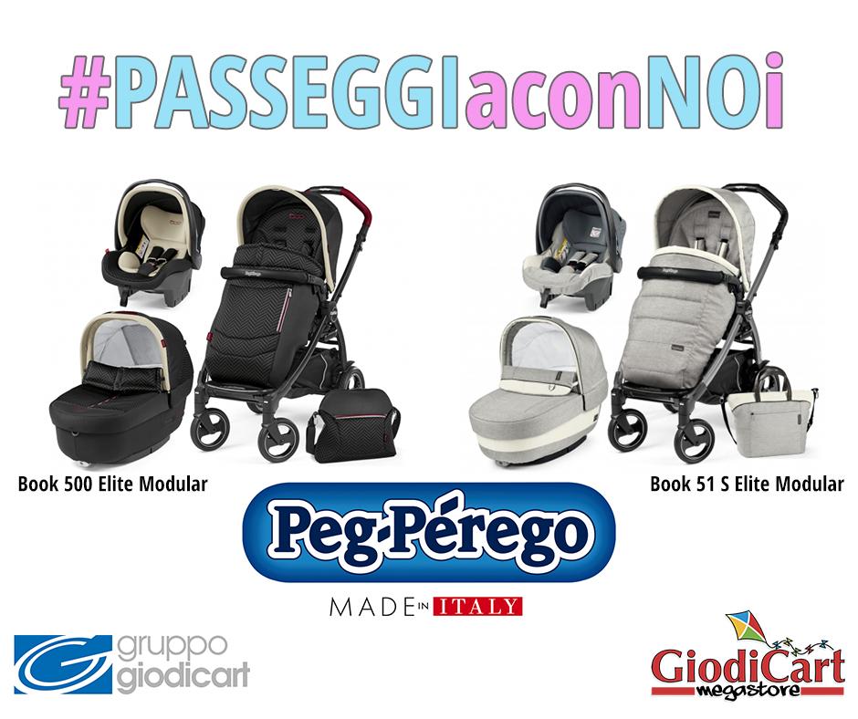 #PASSEGGIaconNOi: Peg-Pérego Book 51 Elite Modular e Book 500 Elite Modular, collezione2017