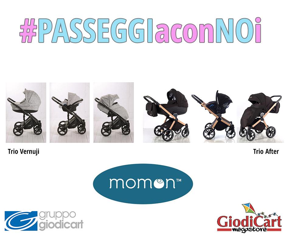 #PASSEGGIaconNOi: Momon Trio Vernuji e After, collezione2017