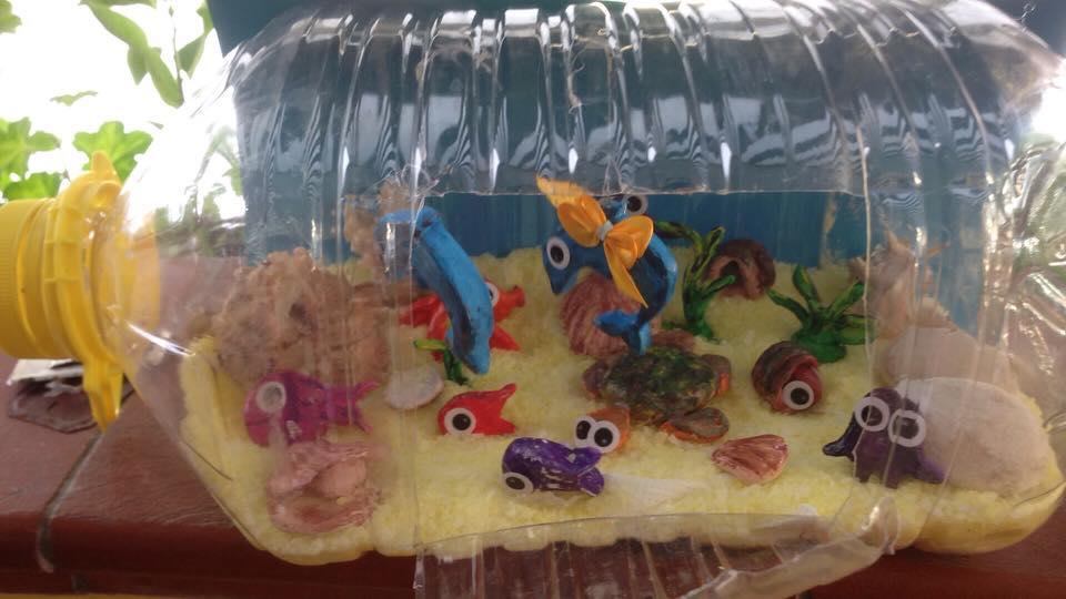 Lavoretto estivo: l'acquario