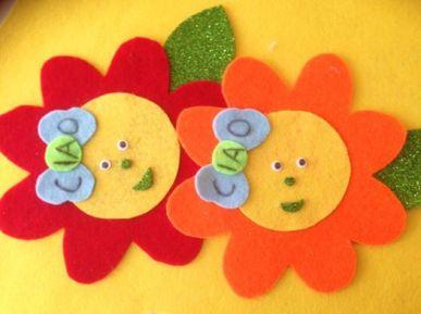 fiori per il primo giorno di scuola