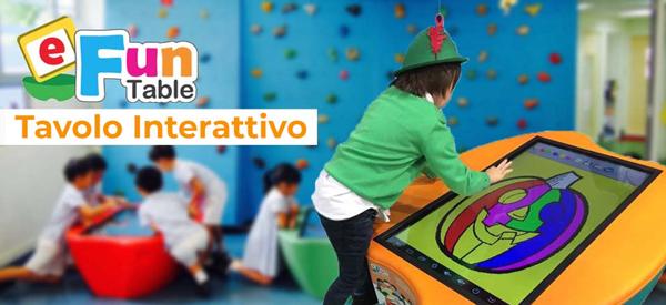 L'innovazione a scuola, tavolo interattivoeFun!