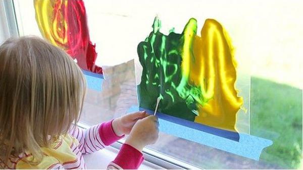 Sperimentare con i colori senzasporcarsi
