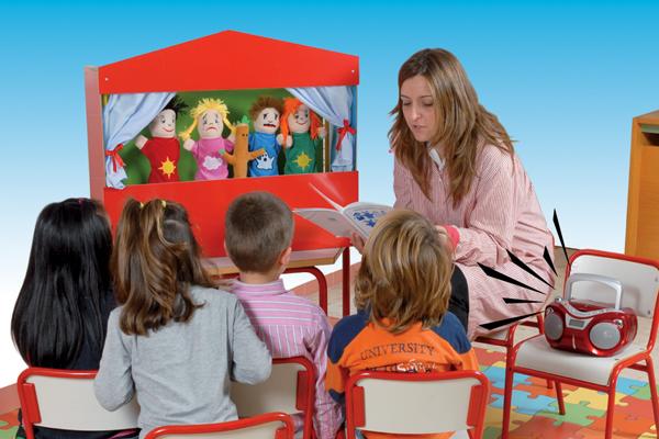 Il teatro dei bambini, usiamo lemarionette