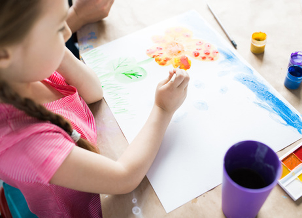 Pittura creativa: un'attività con moltibenefici