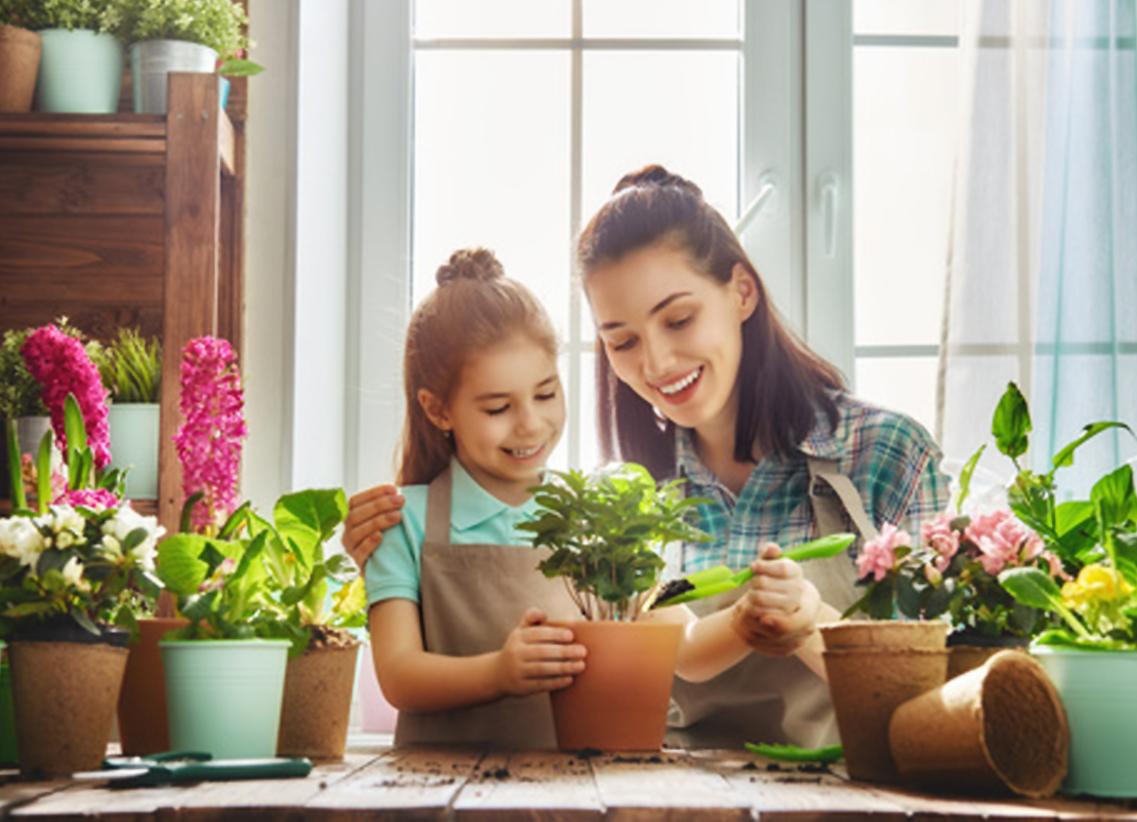 I 10 benefici del giardinaggio perbambini