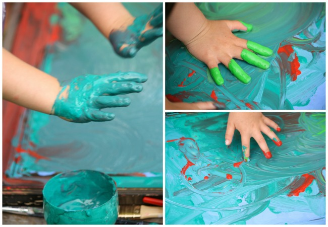 fingerpainting-on-a-mirror